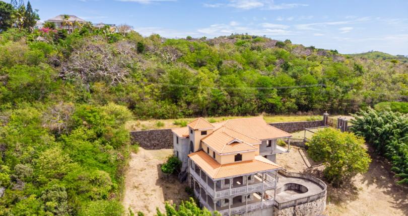 cap estate villa for sale at golf park st lucia