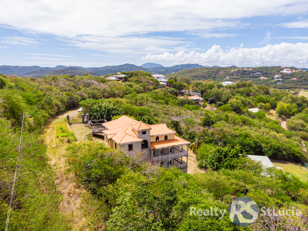 unfinished st lucia real estate for sale