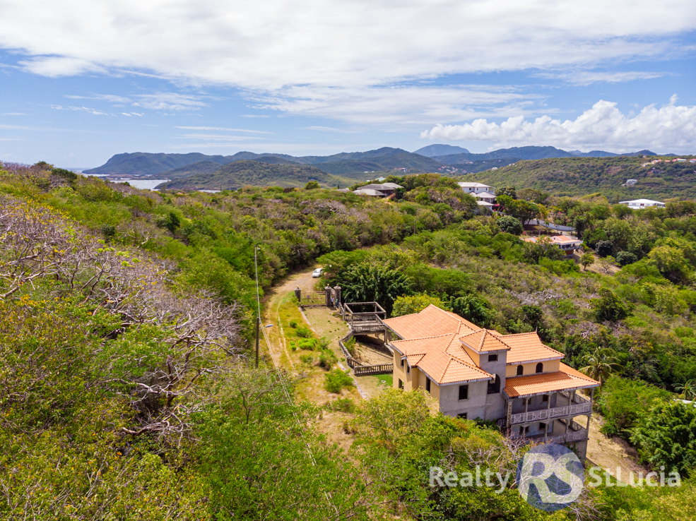 st lucia real estate for sale house unfinished
