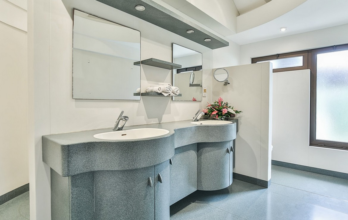 st lucia realty for sale washroom