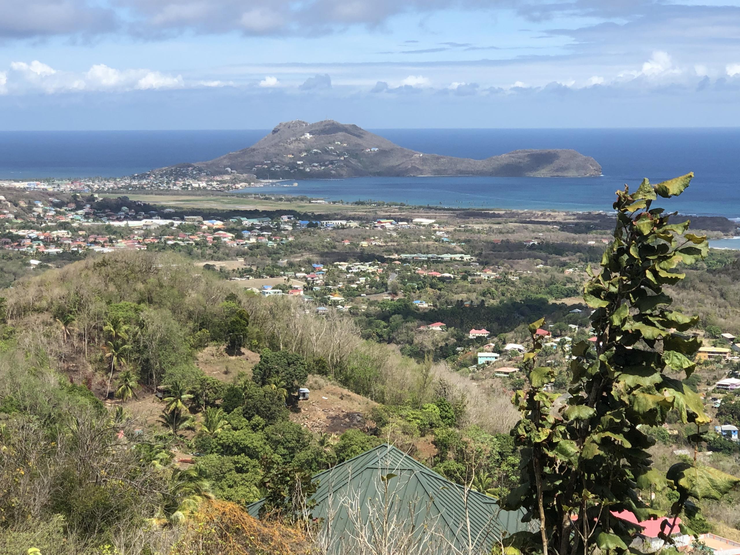 Laborie, St Lucia Morne LeBlanc Land For Sale 22,375 sq ft.