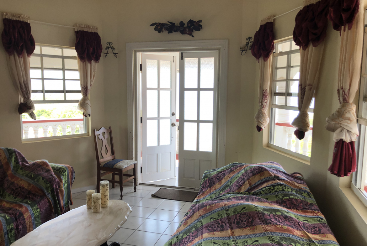house for sale in laborie st lucia view