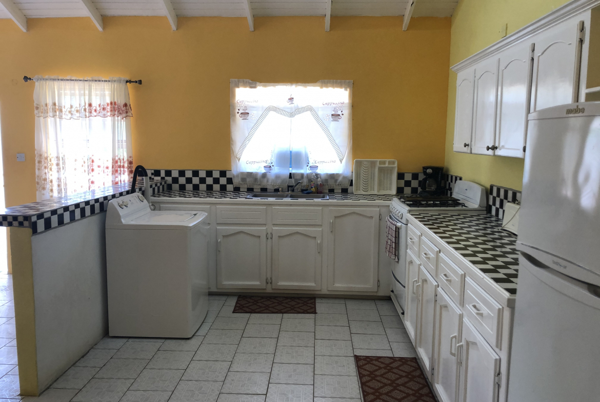 hotel for sale in vieux fort st lucia kitchen