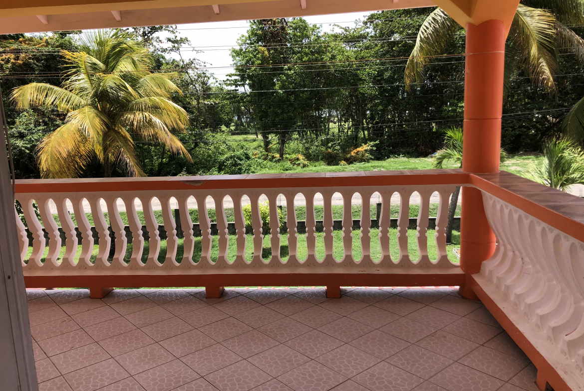 hotel for sale in vieux fort st lucia varandah