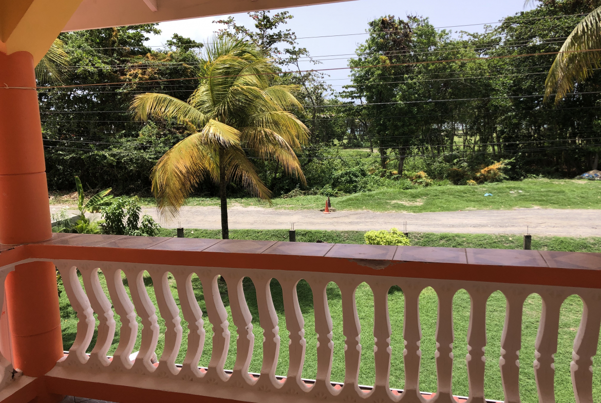hotel for sale in vieux fort st lucia balcony