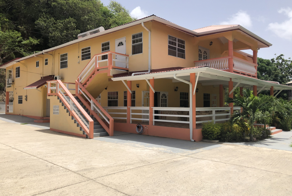 hotel for sale in vieux fort st lucia building