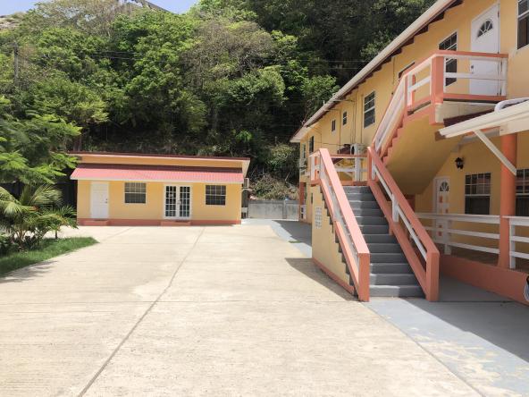 marigot bay st lucia villa for sale driveway