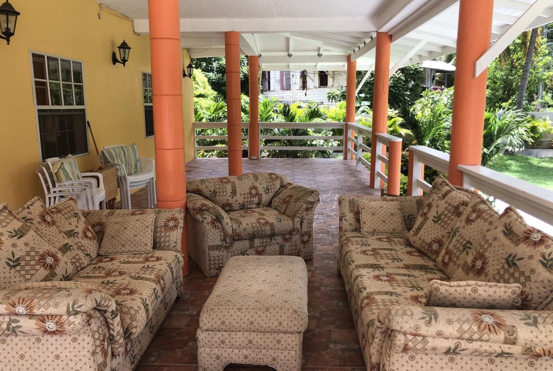 marigot bay st lucia villa for sale outdoor