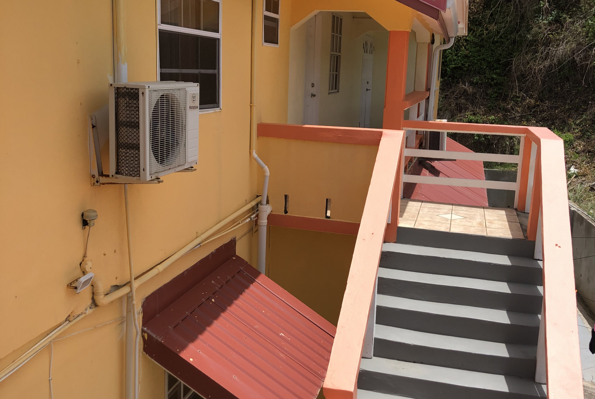 marigot bay st lucia villa for sale stairs