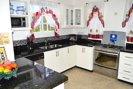 house for sale in beausejour st lucia living room kitchen