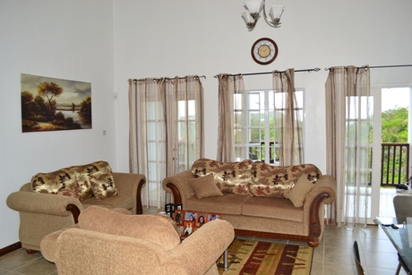 house for sale in beausejour st lucia living room