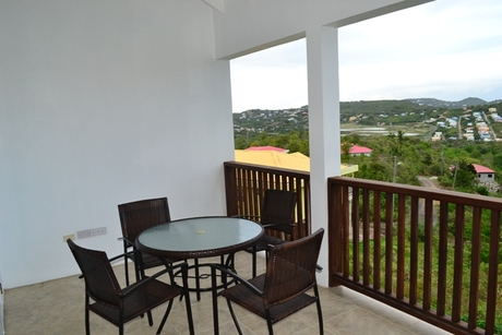 house for sale in beausejour st lucia balcony