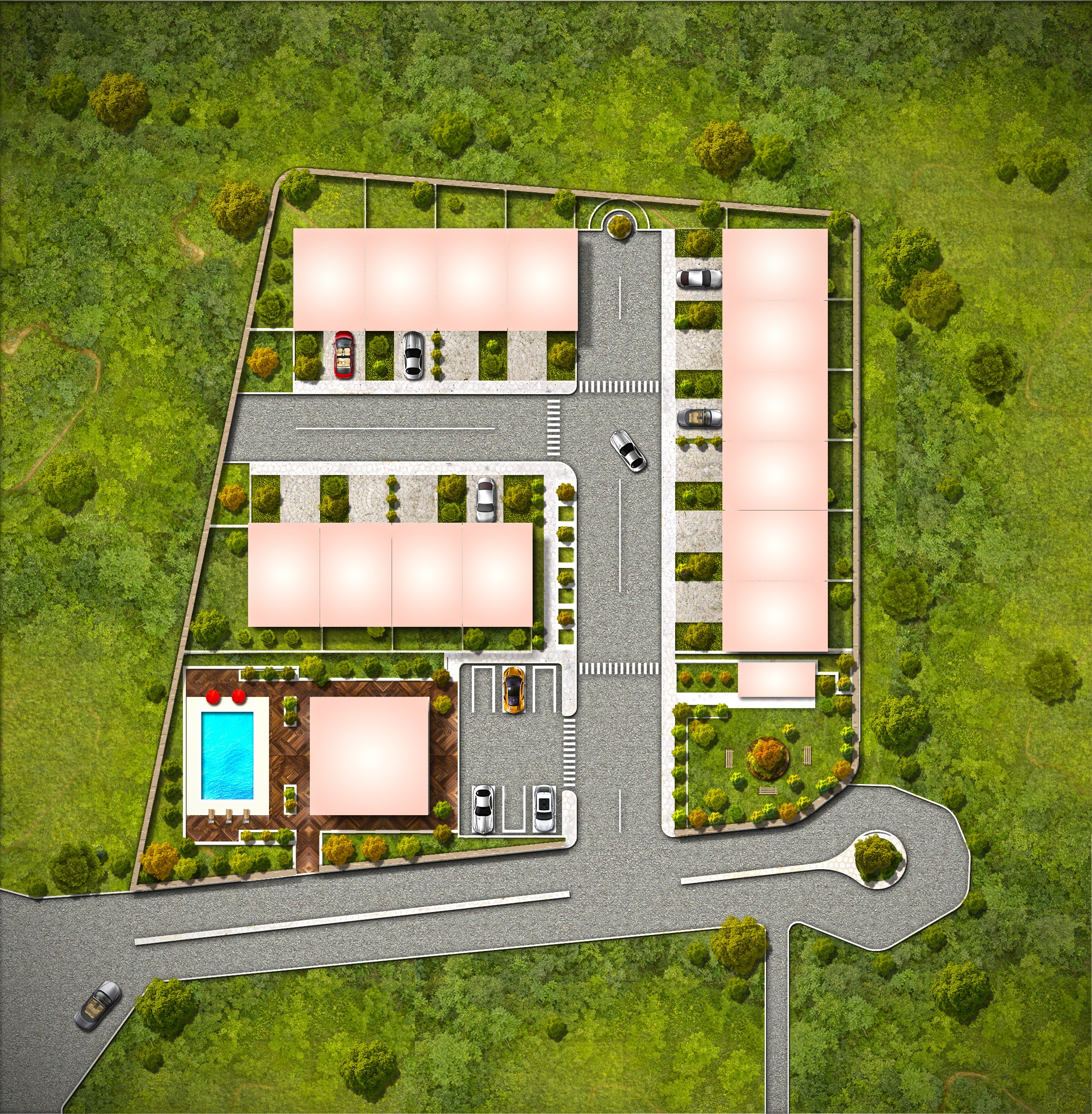 Houses For Sale In St Lucia aerial
