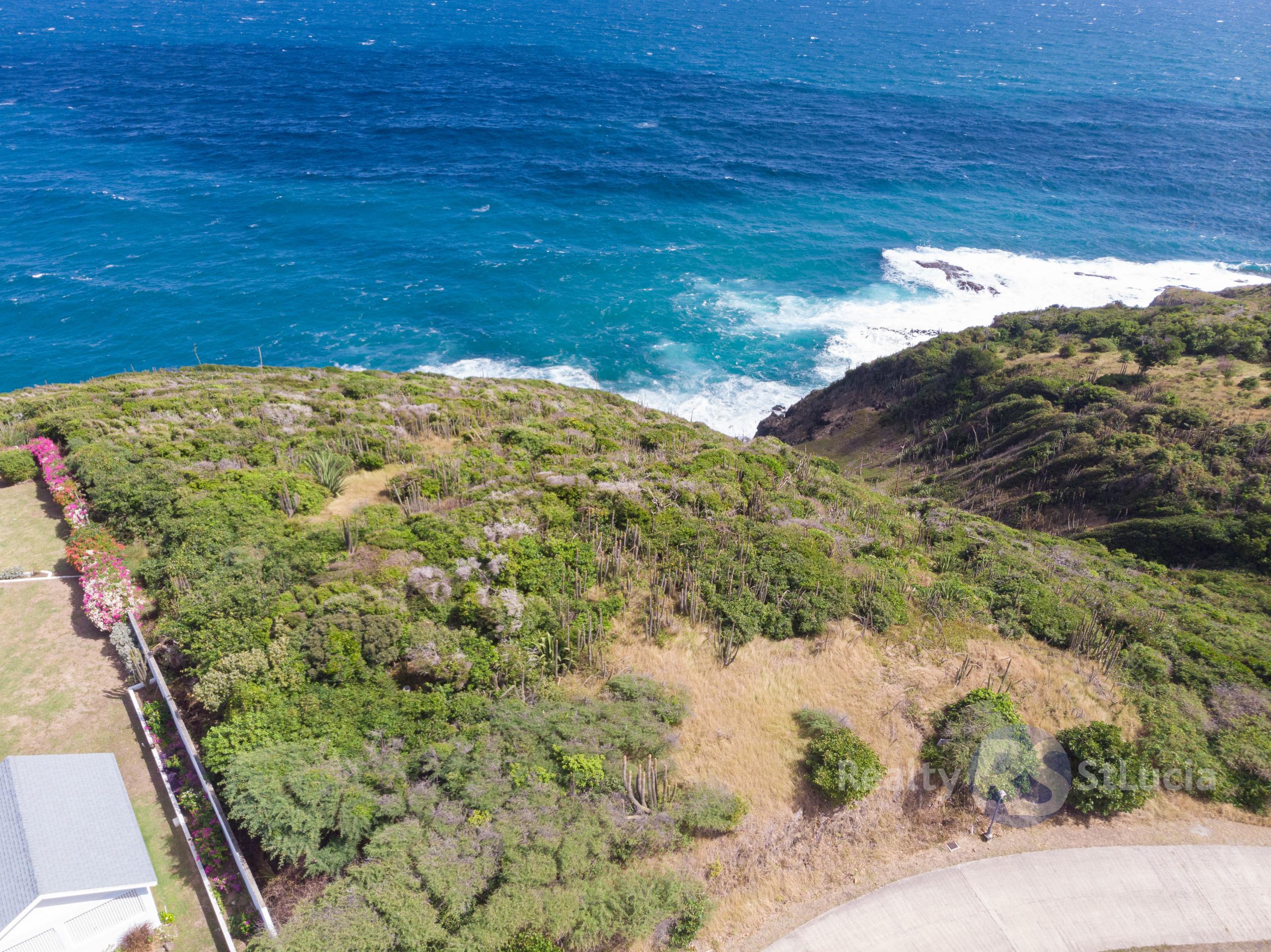 land for sale in st lucia sea breeze hills cap estate