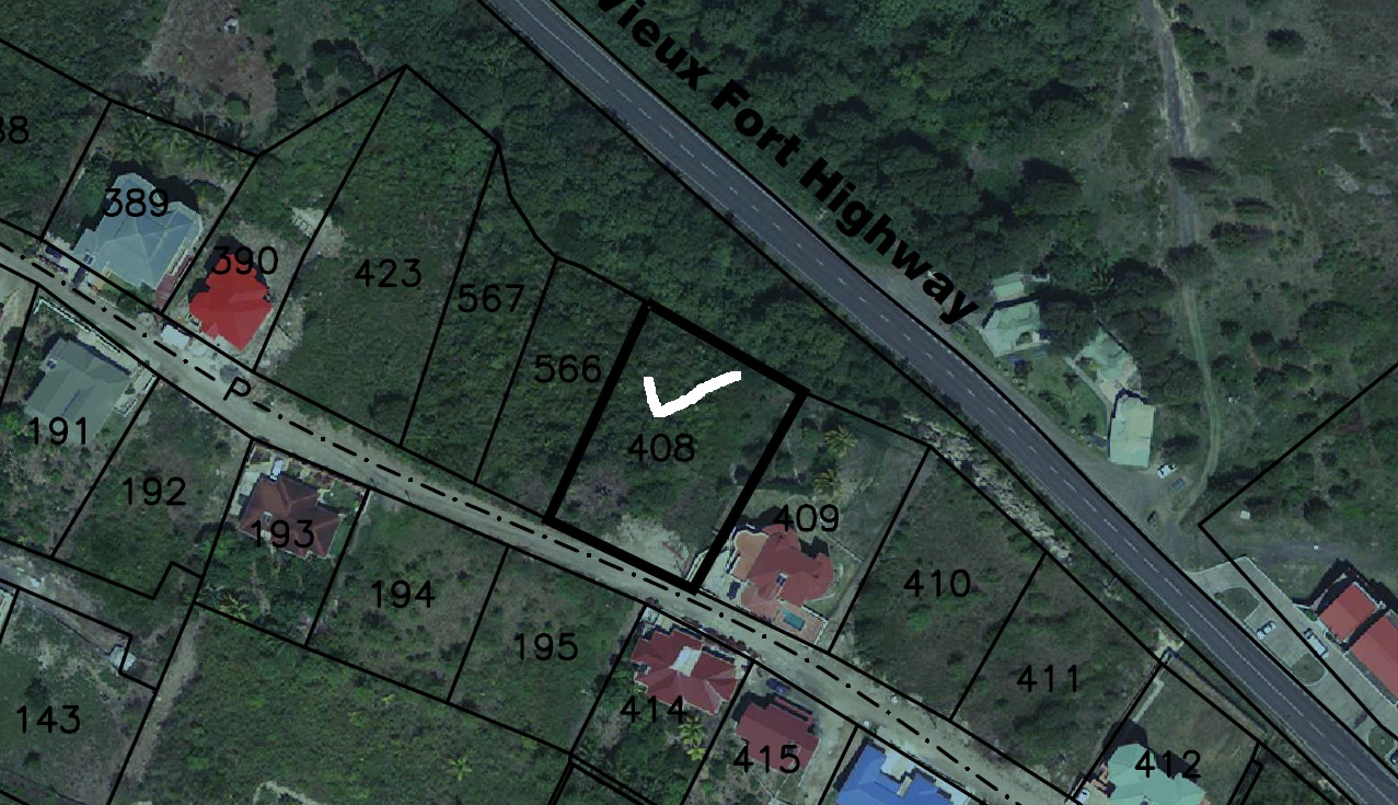 land for sale in St Lucia Bois Jolie Dennery