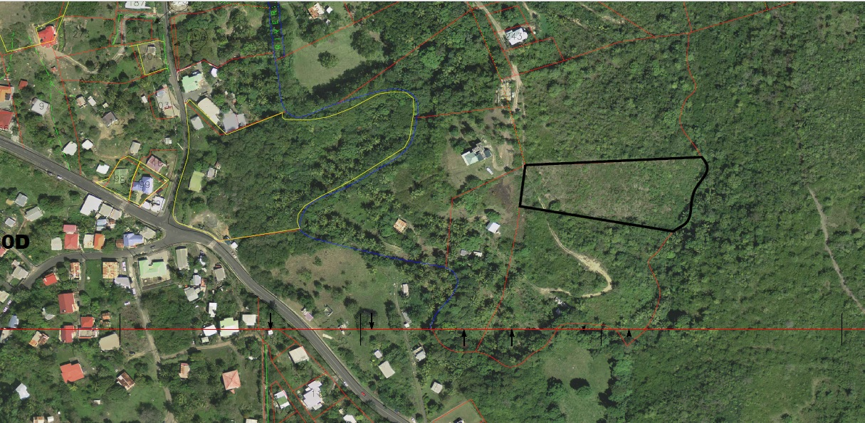 Real Estate Laborie, St Lucia: 1.7 Acres Land For Sale
