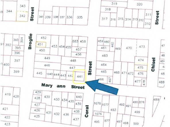 Bargain Lots For Sale on Mary Ann Street Castries