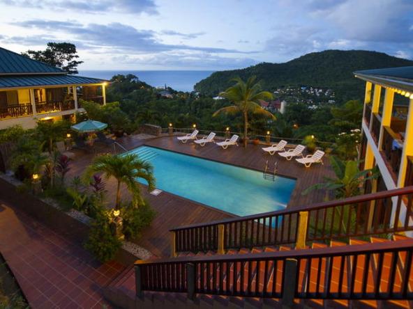 Marigot Bay Property For Sale villa makambu