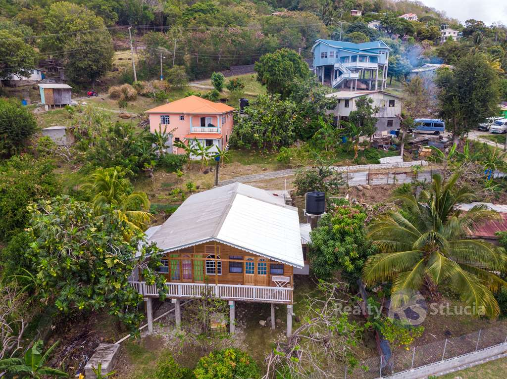laborie house and land for sale in st lucia