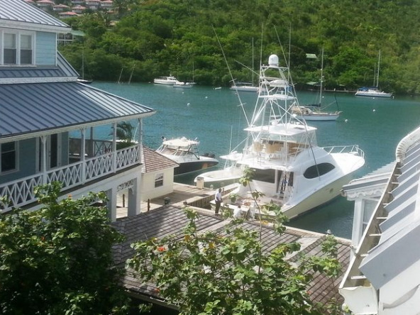 Marigot Bay Marina Village, 2 Bed Apartment For Sale