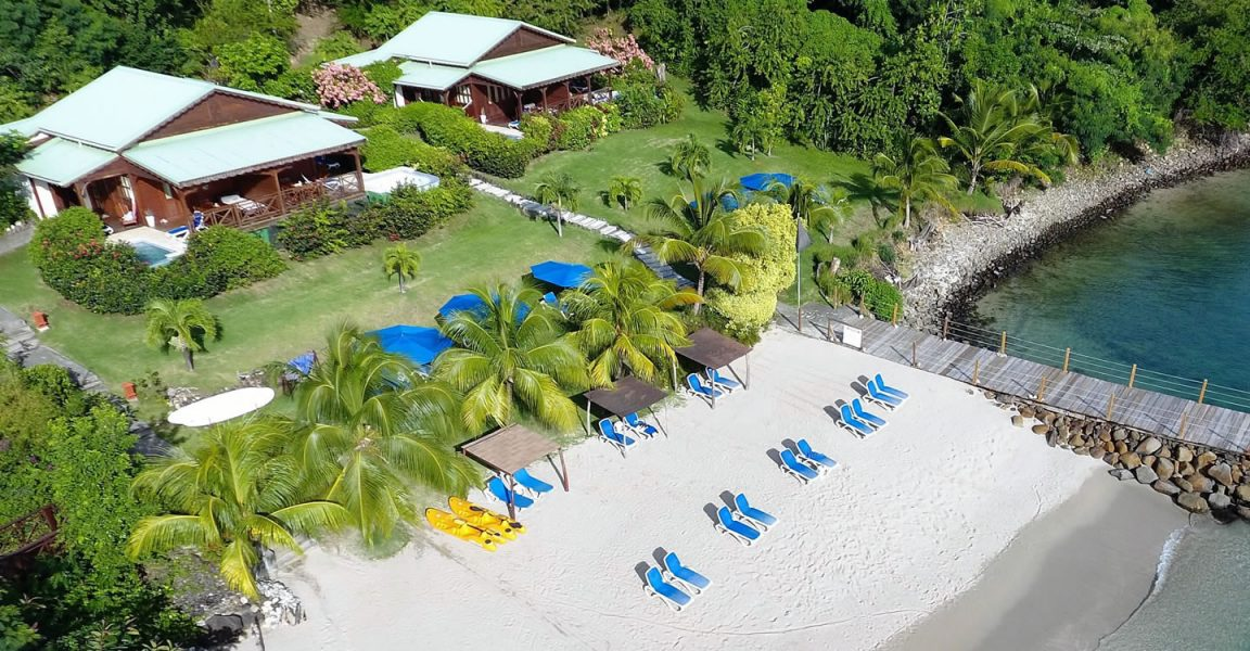 26 Room Beach Boutique Hotel For Sale at Rodney Bay