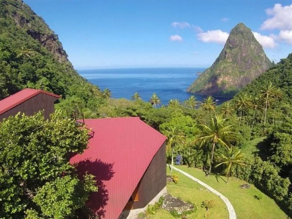 House of the Stars for sale in soufriere st lucia